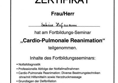 Cardiopulmonale-Reanimation