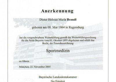 Zusatzbezeichnung-Sportmedizin